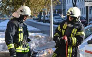 Средняя зарплата пожарного в России, в Москве
