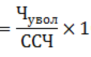 Как рассчитать текучесть кадров – формула, коэффициент