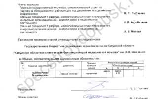 Аттестация по промышленной безопасности организации в Ростехнадзоре